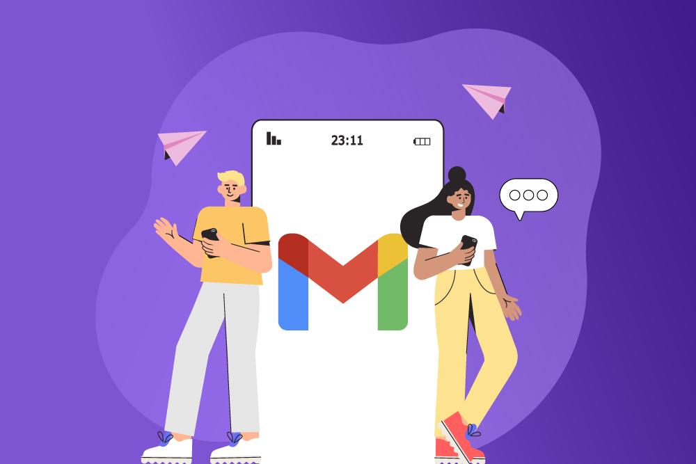 Email na aba promoções do gmail